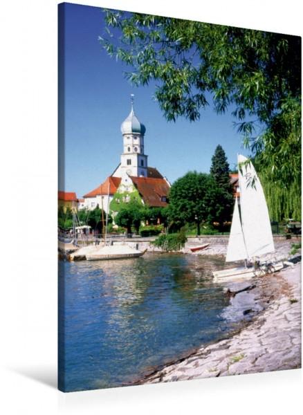 Wandbild Wasserburg am Bodensee