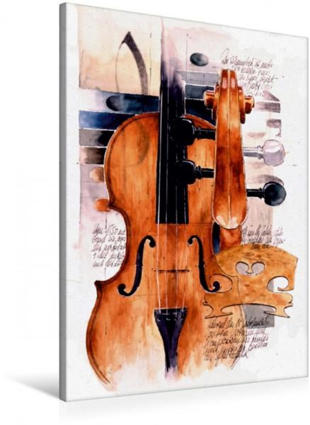 Wandbild Violin
