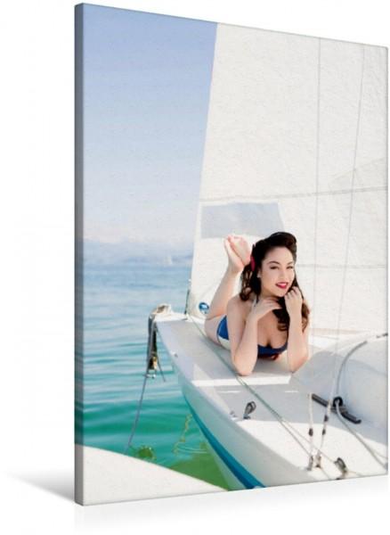Wandbild Schiff Ahoi - Swiss Sailor Babes