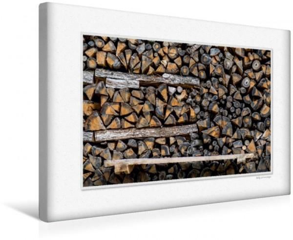 Wandbild Emotional Moments: Holz ist Leben. Teil III. UK-Version