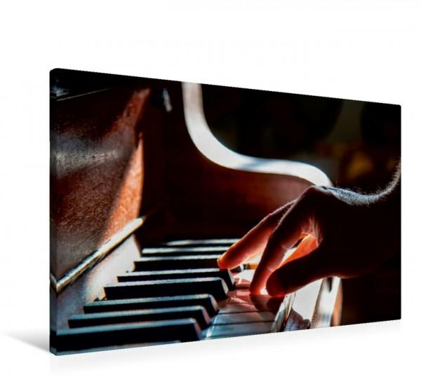 Wandbild Klavier Solo für zehn Finger