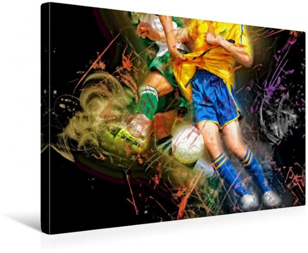 Wandbild Fußball