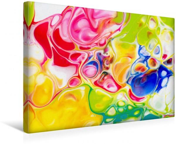 Wandbild Schmetterling I, Acrylic Pouring, Abstrakte Malerei von Carola Vahldiek Ein farbenfrohes inspiriendes Kunstwerk Ein farbenfrohes inspiriendes Kunstwerk