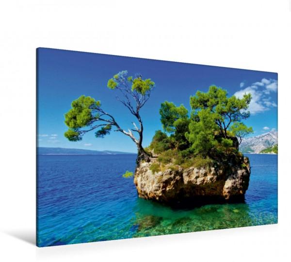Wandbild Strand Brela Makarska Riviera - Malerische Urlaubsorte in Dalmatien Makarska Riviera - Malerische Urlaubsorte in Dalmatien