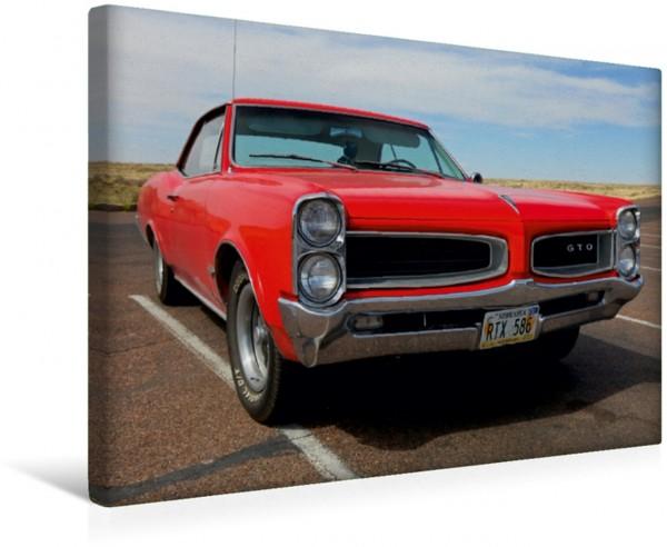 Wandbild Amerikanische Classic Cars