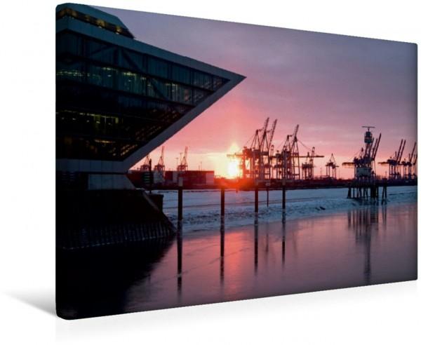 Wandbild Hamburg Dockland