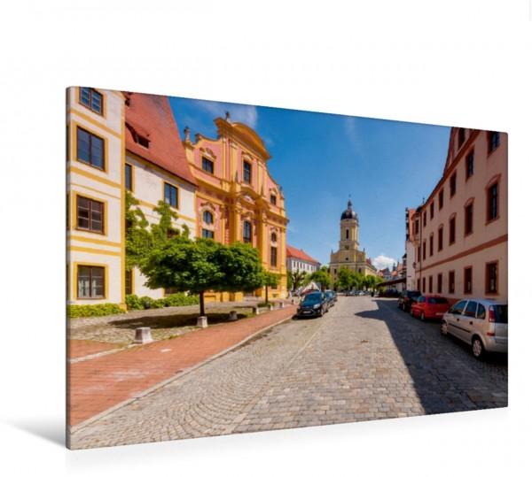 Wandbild Amalienstraße mit Blick auf Staatl. Bibliothek und Hofkirche