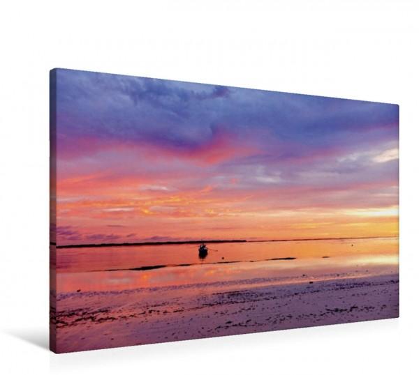 Wandbild Sulawesi Sunset, Indonesien Farbenpraccht der Tropen Farbenpraccht der Tropen