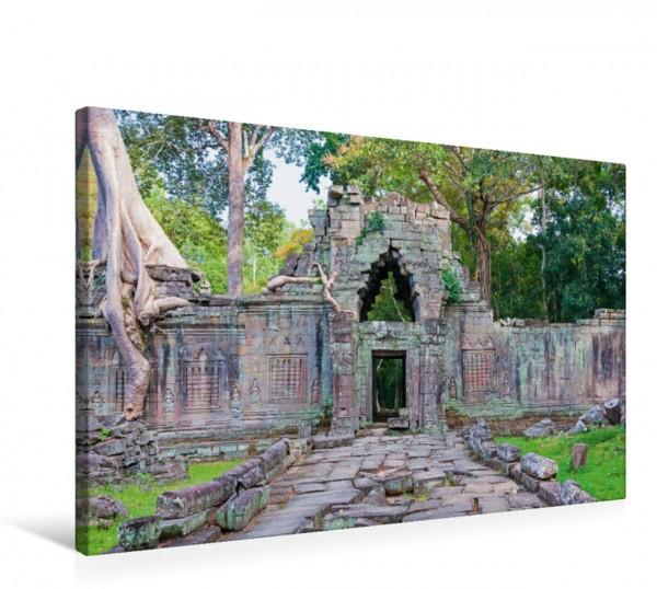 Wandbild Preah Khan Tempel, Angkor