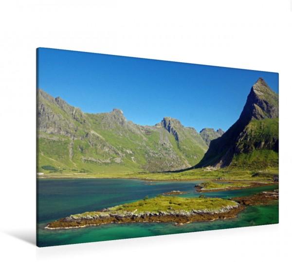 Wandbild Die Farben der norwegischen Lofoten