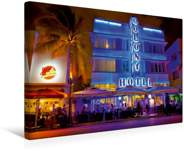 Wandbild Miami