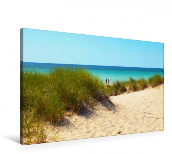 Wandbild Strand am Lake Michigan, Frankfort, Michigan
