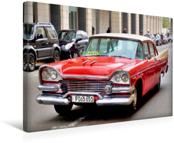 Wandbild Dodge Coronet 1958 - US-Oldtimer in Havanna