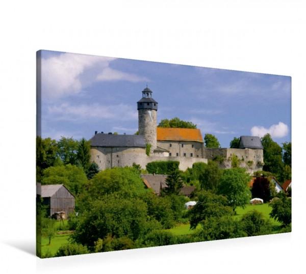 Wandbild Burg Zwernitz Fränkische Schweiz Fränkische Schweiz