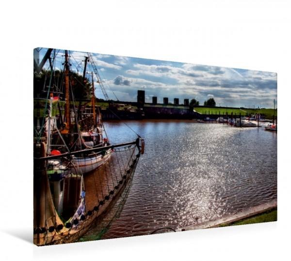 Wandbild Dangast an der Nordsee Friesland - Watt und Nordsee von Peter Roder Friesland - Watt und Nordsee von Peter Roder