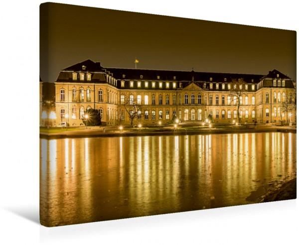 Wandbild Stuttgart neues Schloss Leinwandbild