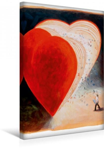 Wandbild Liebesgeflüster einfangen Serie Herzflimmern Serie Herzflimmern
