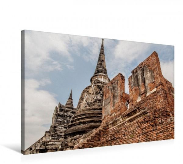 Wandbild Ayutthaya