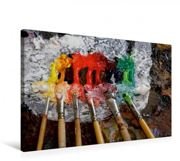 Wandbild Ölfarben