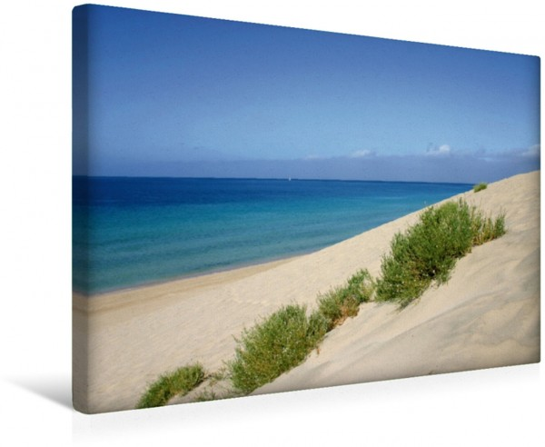 Wandbild Strand bei Morro Jable
