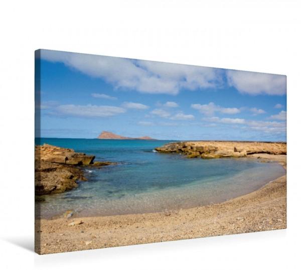 Wandbild Einsame Bucht auf den Kapverden
