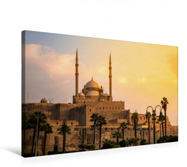 Wandbild Muhammad Ali Moschee Sonnenuntergang