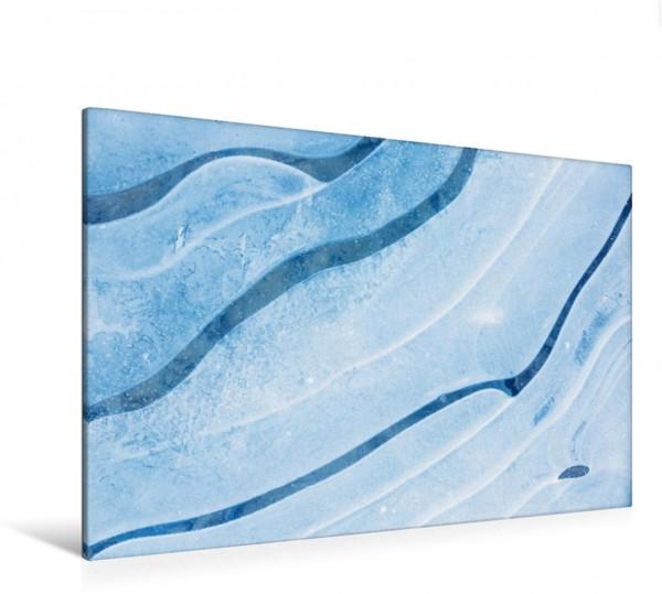 Wandbild Eisstruktur Kunst der Natur Kunst der Natur