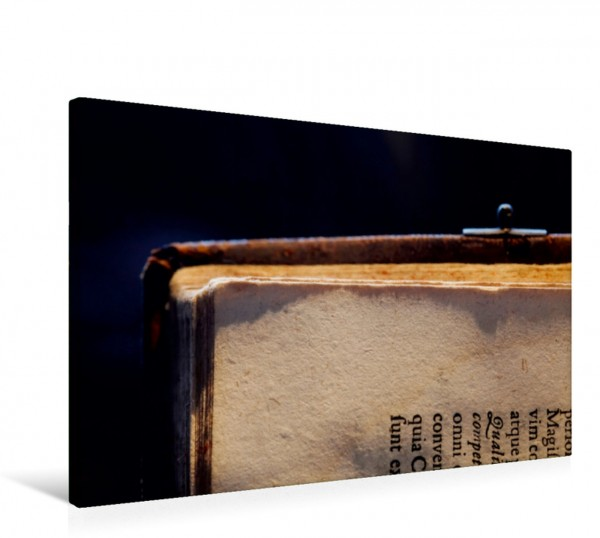 Wandbild Welt der Bücher