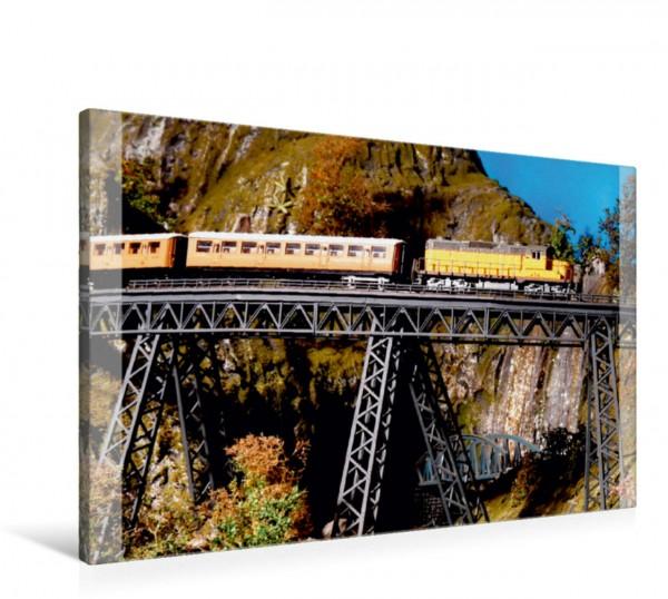 Wandbild Modellbahnmotiv, Andenbahn