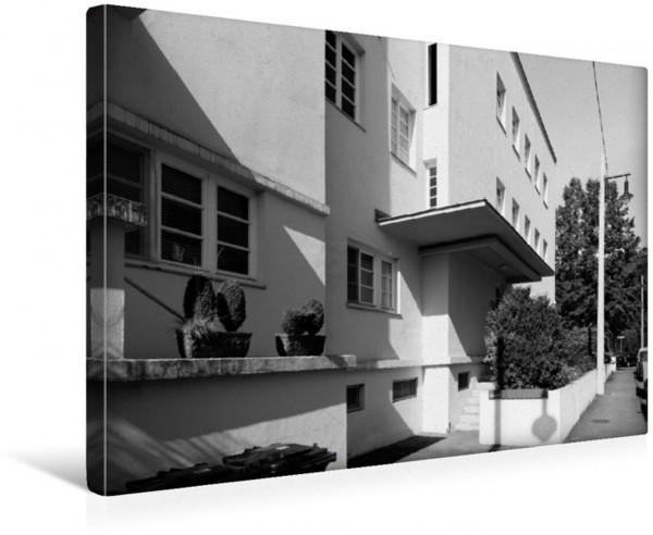 Wandbild Mehrfamilienhaus Architekt Peter Behrens