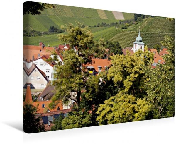Wandbild Blick vom Württemberg auf Stuttgart-Rotenberg