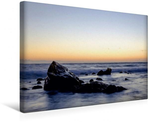 Wandbild Sonnenuntergang am Atlantik