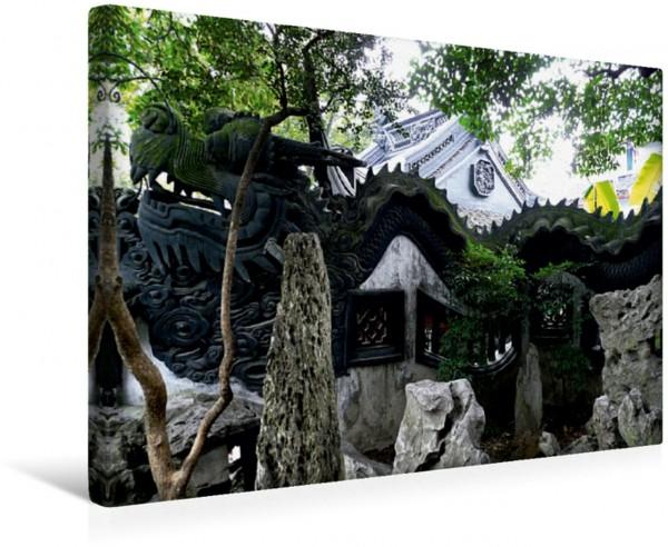 Wandbild Der Drachen, Symbol für langes Leben Impressionen aus Shanghai Impressionen aus Shanghai
