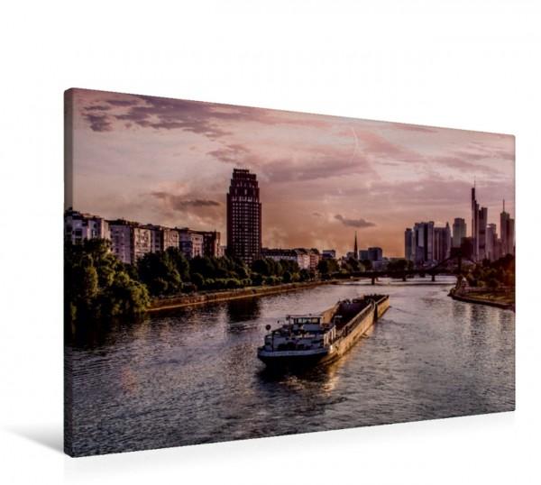 Wandbild Schifffahrt Frankfurt