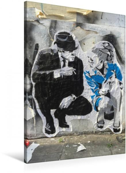 Wandbild London Street Art at its best by Mr. Fahrenheit