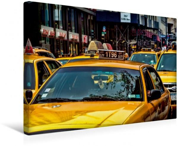 Wandbild New York - nur im Taxi