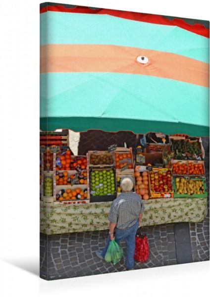 Wandbild Ein Bild des Kalenders auf dem Markt