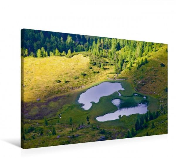 Wandbild Der Wildalmsee in Tweng