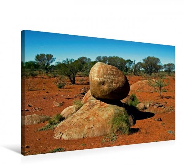 Wandbild Westaustralien: Auf der Strecke zum größten Monolithen der Welt, dem Mt. Augusta