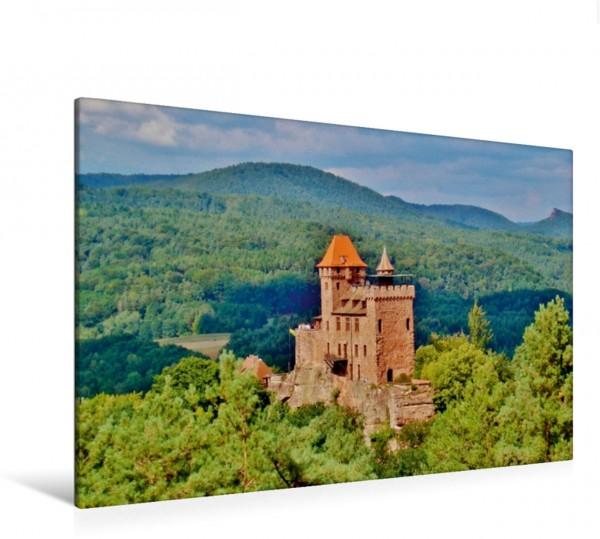Wandbild Burg Berwartstein Erlenbach Erlenbach