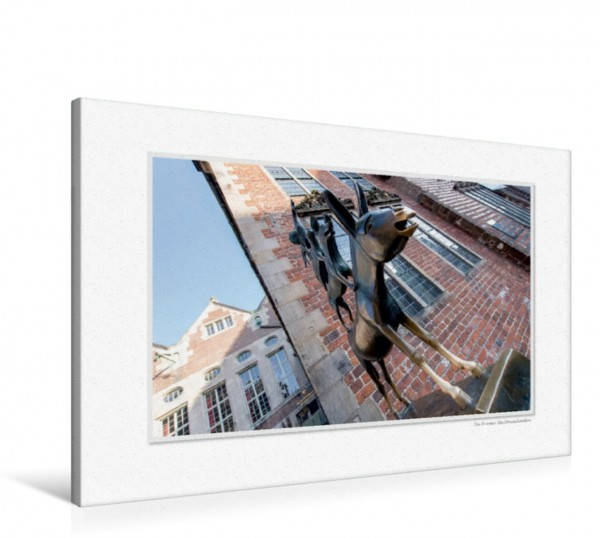 Wandbild Emotionale Momente: Bremen aus der Froschperspektive CH-Version