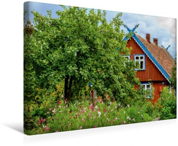 Wandbild Litauen - Nida an der Kurischen Nehrung Idylle an der Ostsee Idylle an der Ostsee