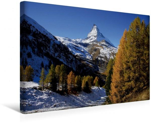 Wandbild Zermatt, Matterhorn - swissmountainview.ch