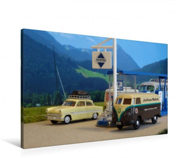 Wandbild Austria Modellautos