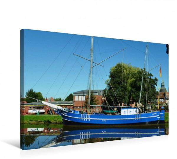 Wandbild Schifffahrtsmuseum mit der Spitzpünte Helene
