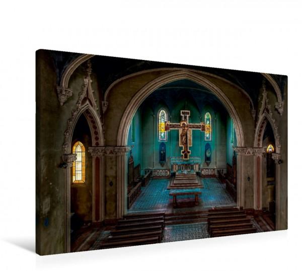 Wandbild Chapel Blue