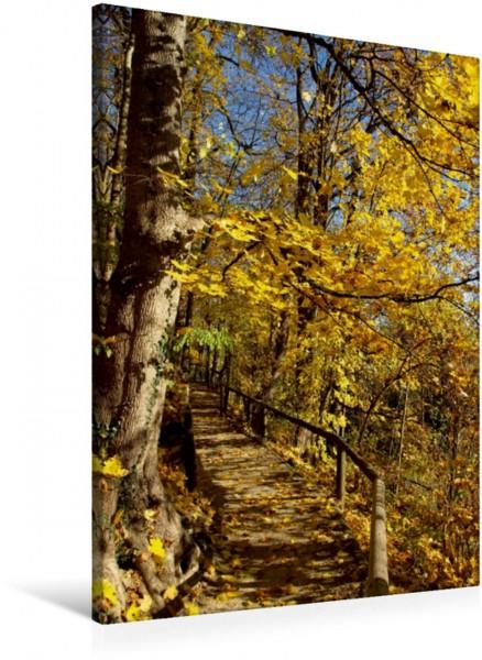 Wandbild Die Blätter fallen