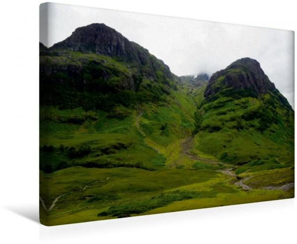 Wandbild Glencoe Mountains Im Herzen der schottischen Highlands gelegene Bergkette Im Herzen der schottischen Highlands gelegene Bergkette