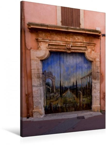 Wandbild Toreingang in Roussillon
