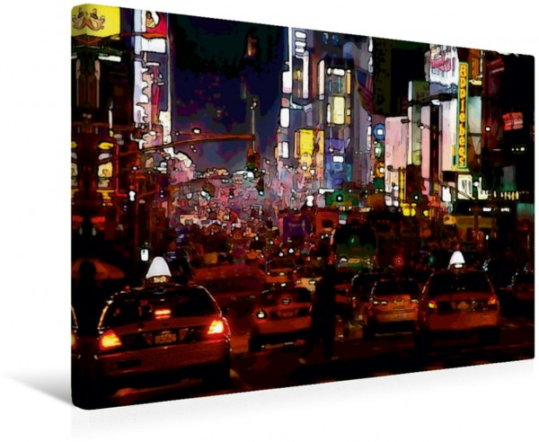 Wandbild Broadway New York im Comic-Stil New York im Comic-Stil